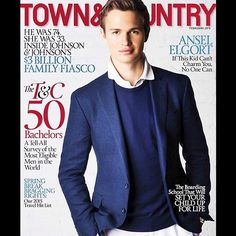 ansel elgort ¦ town & country