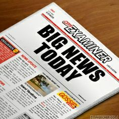 Newspaper Headline from imagechef.com simply generate a headline of newspaper according to your input text. You can choose from 5 color styles for the newspaper. You can also add special symbols to the titles.