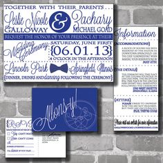 Doctor who wedding invitations offbeat bride weddings and wedding custom doctor who digital gallifreyan wedding invitation set stopboris Image collections
