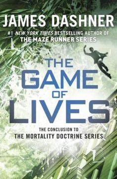 """The Game of Lives by James Dashner. """"Michael and his friends, Sarah and Bryson, must stop the Mortality Doctrine and those behind it now as the fate of humanity is in the balance."""""""