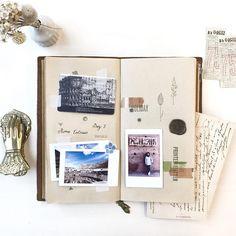 "99 Likes, 1 Comments - Serena Sun (Sun + V) (@sjwsun) on Instagram: ""Day 2 in Rome * • • • * #midoritravelersnotebook #travelersnote #travelersfactory #midori…"""