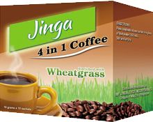 4 in 1 Coffee Mix : Coffee, Brown Sugar and Cream Enriched with Wheatgrass Extract. Coffee contains antioxidants that offer some cardiovascular protection. Wheatgrass itself, is packed with vitamins, minerals, enzymes, amino acids, phytonutrients and carotenoids to promote optimal health.  Call/Text: 0929 262 7420  Email:jingajuiceintl@gmail.com Coffee Mix, Wheat Grass, Amino Acids, Crystals And Gemstones, Brown Sugar, Minerals, Juice, Vitamins, Cream