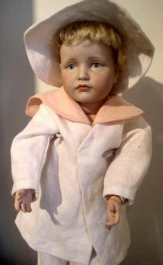 Kammer & Reinhardt 114 character doll extra outfit Blue eyed great doll, Dolls Antique