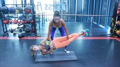 The Sculpt Sisters show off their amazing techniques at the gym