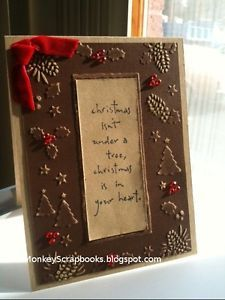 Penny-Black-wood-mounted-stamp-CHRISTMAS #brittanysangel