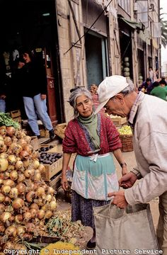 Vegetable market, Chile.