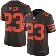Nike Browns Joe Haden Brown Youth Stitched NFL Limited Rush Jersey And  Broncos Emmanuel Sanders 10 jersey 8bcb5ce0a