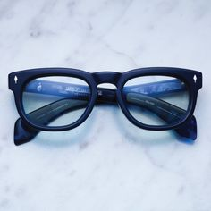 04981d6c0be Jacques Marie Mage - The Pepper Blue - Blue Sunglasses