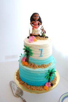 moana cake Hawaiian Birthday Cakes, 4th Birthday Cakes, Luau Birthday, Birthday Ideas, Moana Party, Moana Themed Party, Moans Birthday Party, Moana Theme Birthday, Moana Birthday Cakes
