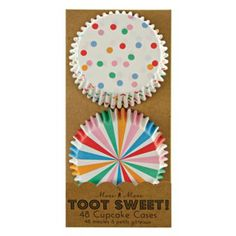 Toot Sweet Cupcake Liners (Set of 48)  | The Land of Nod