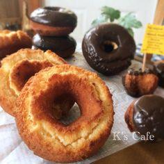 大好き❤️オールドファッション❤️しっとり系+by+K's+Cafeさん+ +レシピブログ+-+料理ブログのレシピ満載! サクサクじゃなくて、ミスドみたいなしっとり系オールドファッションが食べたくて。