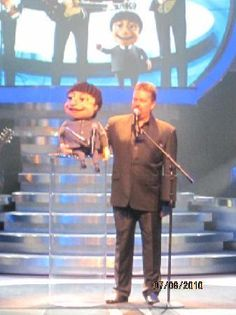 Terry Fator at the Mirage! Very good show, ranked one of the best in Vegas!