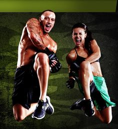 Les Mills Combat workout-three workouts in, and I am obsessed.  Great music, great trainers, martial arts-based program.