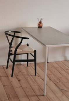 Concrete Desk. Minimalist Desk. Very Elegant And Stylish. Leaves Lots Of  Space Open