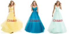 Tulle Ball Gown With Jeweled Straps Open Back Prom Dress
