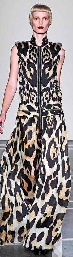 Animal Prints Trend Spring/Summer 2011