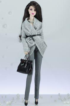 """Agnes"" | The Streets Part I – Fall/Winter/2013 - Dagamoart.com – Doll Fashion Studio by Dagmara Morcinek"