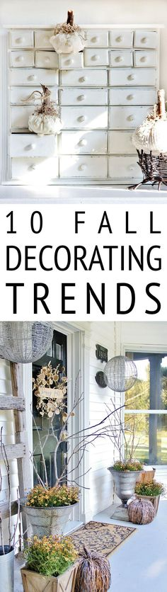 10 Fall Decorating T