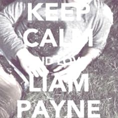 Keep Calm & Love Liam Payne:) He's such an angel:)