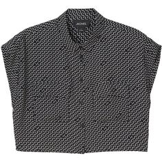 Monki Sibel blouse (€10) ❤ liked on Polyvore featuring tops, blouses, monki, shirts, print perfection, print shirts, pattern blouse, short sleeve print shirt, short sleeve tops and pattern tops