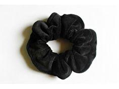 Scrunchie Black Pelúcia