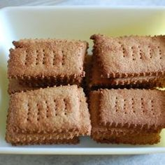Belgian Brown Sugar Biscuits (picture is not what they look like, presumably)