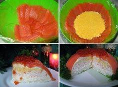 """Лучшие кулинарные рецепты: """"Рыбный торт"""""""