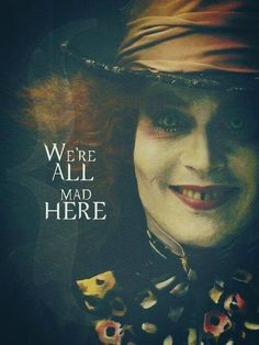 alice in wonderland, johnny depp, and mad hatter resmi