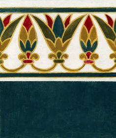 Art Deco, Art Nouveau, Ancient Egypt Art, Ancient Aliens, Ancient Artifacts, Ancient Greece, Egyptian Party, Boarder Designs, Egyptian Symbols