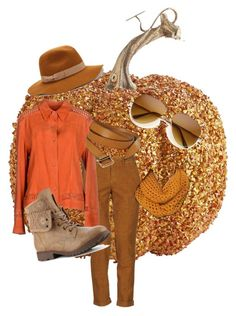 """Pumpkin spice"" by annasquitlepooj on Polyvore featuring Haikure, Ermanno Daelli, Jigsaw and Old Navy"