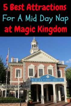 The 5 best attractions for a midday nap at Walt Disney World. Which one is your favorite? Magic Kingdom Food, Magic Kingdom Rides, Disney World Magic Kingdom, Disney World Parks, Disney World Planning, Walt Disney World Vacations, Disney Travel, Attractions In Orlando, Orlando Vacation