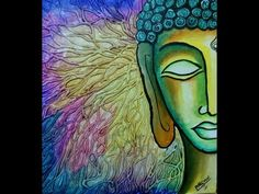 Ideas painting abstract buddha for 2019 Buddha Painting, Wood Painting Art, Painting For Kids, Painting Abstract, Pastel Watercolor, Watercolor Background, Watercolor Ideas, Buddha Canvas, Love Canvas