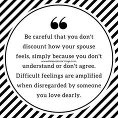 It can hurt deeply when the one you WANT to understand makes no attempt to.