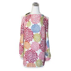 Itzy Ritzy™ Ritzy Nurser™ Fully-Lined Nursing Cover - Fresh Bloom & Baby Bamboo-buybuy BABY