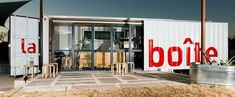 Pop up Shop | Pop up Store | Retail Design | Retail Display | Amazing what can be made from a shipping container.