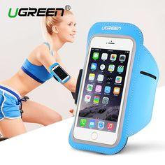 Ugreen universal arm band case für iphone 7 6s 5 5 s rennen sport abdeckung halter für samsung galaxy huawei radfahren case abdeckung
