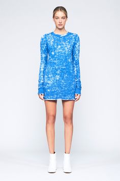 Tokyo Tee Long Sleeve Mini Dress – Cotton Citizen