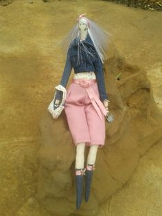 Decor doll handmade by Elize