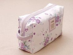 Lovely diaper pouch tutorial with all details. (Peachmade, Japanese Site)