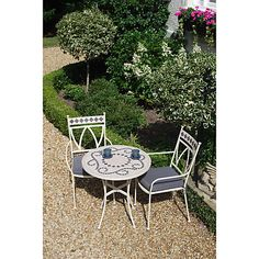 Buy LG Outdoor Marrakech 2-Seater Outdoor Bistro Set Online at johnlewis.com