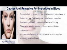 This video describes about what are the causes and remedies for impurities in blood. You can find more detail about Glisten Plus Capsules at http://www.ayushremedies.com
