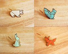 sweet little brooches.