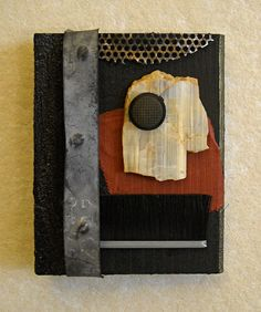 Act: found object assemblage by tristanfrancis on Etsy