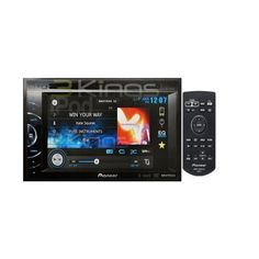 Pioneer AVH-X2500BT 2-DIN Multimedia DVD Receiver with 6.1″ WVGA Touchscreen Display
