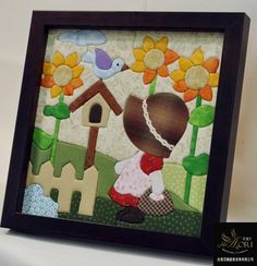 Applique Quilts, Embroidery Applique, Pattern Blocks, Quilt Patterns, Felt Crafts, Diy Crafts, Sewing Projects, Craft Projects, Sunbonnet Sue