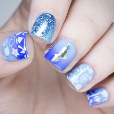 Nail Art Stamping with MoYou Sailor Collection | The Nailasaurus
