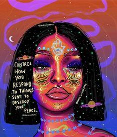 Spiritual Messages, Spiritual Life, Zen Wallpaper, Psy Art, Happy Words, Healing Quotes, Pretty Words, Divine Feminine, Hippie Art