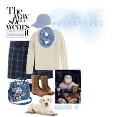 Weekend Outing with my babies by suzie-v on Polyvore featuring art