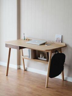 Study Table Designs, Study Room Design, Room Design Bedroom, Workspace Design, Home Office Design, Home Office Decor, Home Furniture, Refurbishing Furniture, Furniture Design