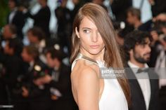 US model Jessica Miller poses on May 18, 2013 as she arrives for the screening of the film 'Jimmy P. Psychotherapy of a Plains Indian' presented in Competition at the 66th edition of the Cannes Film Festival in Cannes. Cannes, one of the world's top film festivals, opened on May 15 and will climax on May 26 with awards selected by a jury headed this year by Hollywood legend Steven Spielberg.